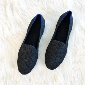 Rothy's The Loafer in Black Honeycomb Size 8.5